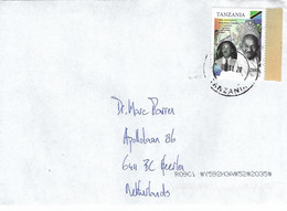 Tanzania 2020 Musoma Mahatma Gandhi President Julius Nyerere Flag Lion Cat Armory Cover - Tanzania (1964-...)