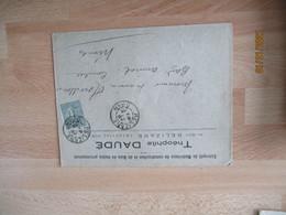 Relizane Algerie Theophile Daude  Bois Enveloppe Commerciale - 1900 – 1949