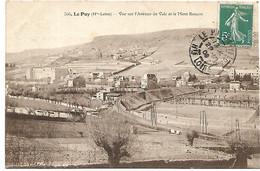 L130B235 - Le Puy - Vue Sur L'Avenue De Vals Et Le Mont Rouzon - Le Puy En Velay