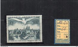 PA. Oblitéré - N°20 - 1927-1959 Matasellados