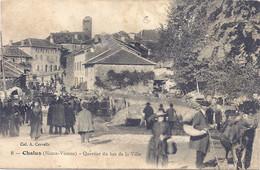 CPA - Chalus -  Quartier Du Bas De La Ville - Chalus