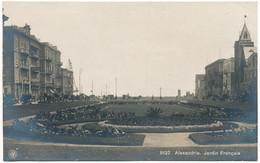Y166.  Alexandrie - Jardin Français - Alexandria