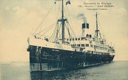 "PAQUEBOT - ""Cap Corse"" De La Compagnie Fraissinet. - Piroscafi"