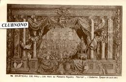 CPA - PAU - CHATEAU - LES MOIS OU MAISONS ROYALES (ETAT PARFAIT) - Pau