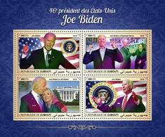DJIBOUTI 2020 - J. Biden, Arrows. Official Issue [DJB200619a] - Boogschieten