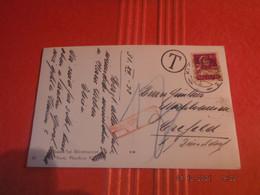1932 Carte Glacee  Envoi Taxe De Klosters Mit Silvrettaguppe Pour Crefeld Allemagne - Storia Postale