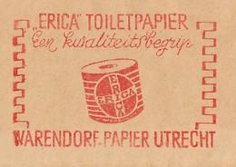 Meter Cover Netherlands 1958 Toilet Paper - Utrecht - Sin Clasificación