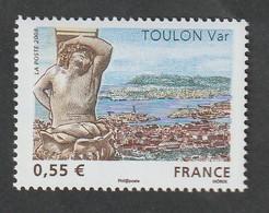 """TIMBRE -  2008  - N° 4257  -  Série Touristique , Toulon  -  """"le Port Du Levant """"      Neuf Sans Charnière - Unused Stamps"""