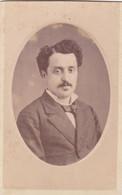 Photo Foto - Formato CDV - Signore Con Baffetti - Years '1870/80  - Giovanni Morotti, La Spezia E Carrara - Ancianas (antes De 1900)