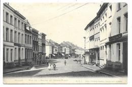 Binche - Rue De L'Eglise Et Grand'Place. - Binche