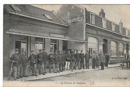 CPA 59 Nord Scènes De Douane à La Frontière Franco Belge Bureau Agent Facteur Des Douanes - Customs