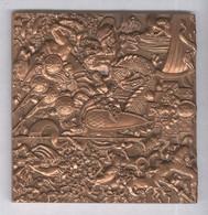 Médaille Légende De France - Monnaie De Paris - Graveur Delamarre 75 X 75 Mm 1970 - Non Classificati