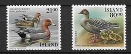 """Islande 1990 - Série Complète  """"Canards"""" - Neuf ** - MNH - Patos"""