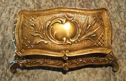 Franc-maçonnerie. Boîte à Timbres Bronze - Stamp Boxes