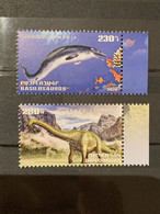 Armenia 2020 MNH Stamp Pre Historic Animals Dinosaurs Sea Mammals - Armenien