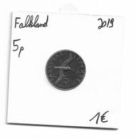 FALKLAND - 5 PENCE 2019 - Falkland Islands