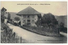 CPA  SAINT-JEAN - D'ARVEY   Hôtel Bellevue - Altri Comuni