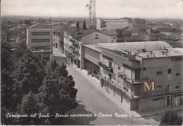 Cervignano Del Friuli - Scorcio Panoramico E Cinema Nuovo - Other Cities
