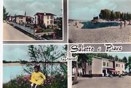 SALETTO DI PIAVE- TREVISO      - CARTOLINA   VIAGGIATA FG -1968- - Altre Città