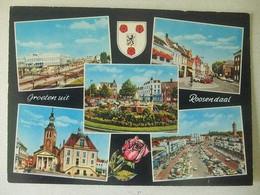 036 Ansichtkaart Groeten Uit Roosendaal - Roosendaal