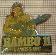 FILM RAMBO II LA MISSION  Sylvester STALLONE - Kino