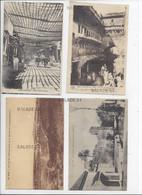 10 CPA - MAROC - FES (FEZ) Musée, Hopital, Quartier, DJEDID Rue Principale - Fez