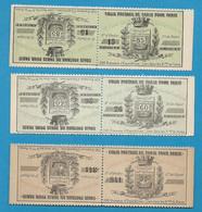 Timbre Pour Colis Postaux De Paris Pour Paris. Ref 6-7-8  Dallay -1891 - Mint/Hinged