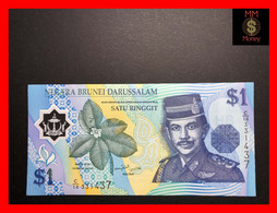 BRUNEI  1 Ringgit 1996  P. 22 A   POLYMER  AU - Brunei