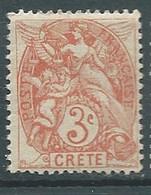 Crête  -  Yvert N° 3 **   -   Ad 41601 - Unused Stamps