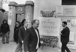 PHOTO - Photo De Presse - POLITIQUE - Hommes Politiques Français - SEGUY - CGT - Syndicat - - Personnes Identifiées