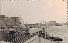 K1 - Photo - Lot De Six Photos - Vue De Brest Et De L'Arsenal - Porte Avion Foch - 1962 - Places