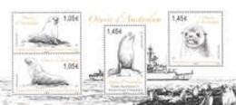 2021-01- TAAF- FSAT- Stamps Face Value Price  BF OTARIES      MNH** - Antarctische Fauna