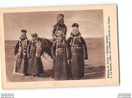 CPA Missions De Scheut Mariage Mongol - La Fiancée Voilée Est Conduite à Chaval Vers L'église - Mongolia
