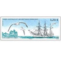 2021-01- TAAF- FSAT- Stamps Face Value Price  BATEAU LA MEURTHE     MNH** - Antarctische Fauna