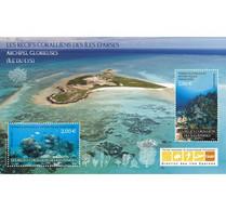 2021-01- TAAF- FSAT- Stamps Face Value Price  RECIFS CORALIENS     MNH** - Antarctische Fauna