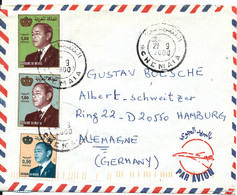 Morocco Air Mail Cover Sent To Germany 21-9-2000 - Marokko (1956-...)