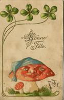 13558  -  De Kunzli Fréres - Illustrateur  LE CHAMPIGNON  VENENEUX    Circulée En 1902 - Other Illustrators