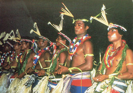 YAP - Caroline Islands : Traditional Male Dancers Of Yap - Micronesia