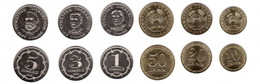 Tajikistan - Set 6 Coins 10 20 50 Diram 1 3 5 Somoni 2020 UNC Lemberg-Zp - Tajikistan