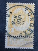 COB N° 54 Oblitération Tongres - 1893-1900 Thin Beard