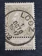 COB N° 59 Oblitération Looz 1902 - 1893-1900 Thin Beard