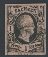 Sachsen Michel Nummer 4 II Gestempelt - Sachsen
