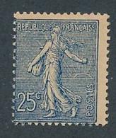 DX-181: FRANCE: Lot Avec N°132** (décentré) - 1903-60 Säerin, Untergrund Schraffiert