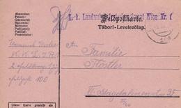 Feldpostkarte - K.k. Landwehrinfanterieregiment Wien Nr. 1 - 1915 (53707) - Lettres & Documents