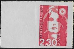 France 1990 Autocollant - Yvert Nr. 2630  Marianne Du Bicentenaire - Michel Nr. 2755 ** - Adhesive Stamps