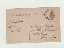 CARTOLINA POSTA MILITARE 141 DEL 1919 - TRIPOLITANIA-CIRENAICA DA CAPITANO PER TENENTE COLONNELLO - Documenti