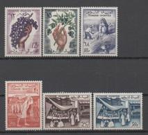 Tunisie N° 428/433** Les Productions Du Pays (série Complète) - Tunisia (1956-...)