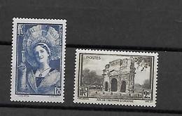 FRANCE 388/389 Neuf** - Unused Stamps