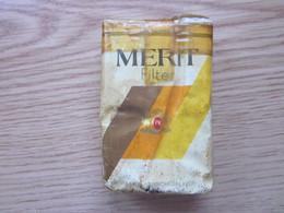 Full Tobacco Box Merit Filter Vente En France Philip Morris - Non Classés