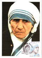 Carte Maximum YT 4455 Mère Teresa 1er Jour 27 05 2010 TBE Paris (75) - 2010-...